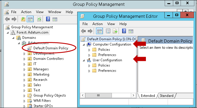 AD Group Policy - Lucanuscervus Notes